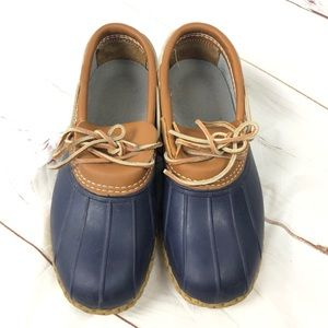 LL BEAN Low Mocassin duck boots / shoes 10 W